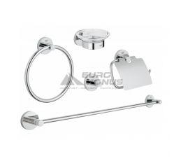 GROHE Набор аксессуаров для ванной комнаты Essentials (40344001)