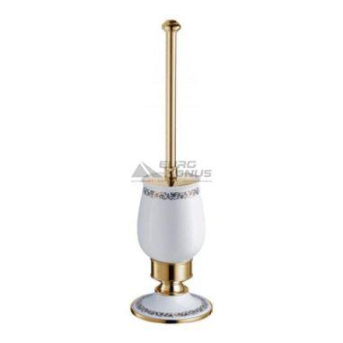 KRAUS Ершик для унитаза напольный Apollo KEA-16532 G золото