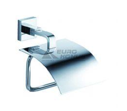 KRAUS Держатель туалетной бумаги с крышкой Aura KEA-14426 CH хром