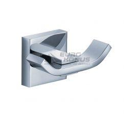 KRAUS Крючок двойной для ванной комнаты Aura KEA-14401 CH хром