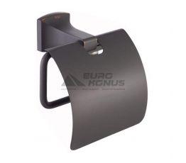 KRAUS Держатель туалетной бумаги с крышкой Fortis KEA-13326 ORB темный шоколад