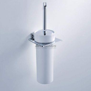 KRAUS Ершик для унитаза с настенным держателем Fortis KEA-13331 CH хром