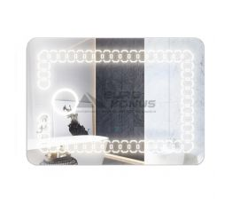 KRONER Зеркало с LED-подсветкой 500х700 мм KRM Belantis-ACS781 (CV022934)