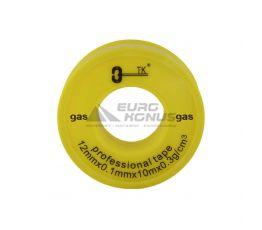 Фум лента GAS 12 мм х 0,1 мм (10 м)