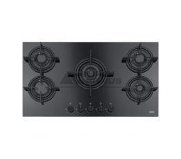 FRANKE Варочная поверхность газовая CRYSTAL FHCR 905 4G TC HE BK C черный (106.0374.288)