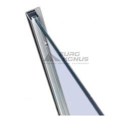 VOLLE Стеновой профиль хромированный 2000 мм  для душевой стенки walk-in 18-01-01H