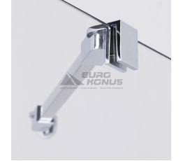 VOLLE Держатель стекла (J) угловой для душевой стенки walk-in длиной 350мм 18-05J-35