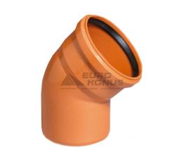 ARMAKAN Колено для наружной канализации 160*/45° (AUP26)