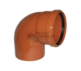 ARMAKAN Колено для наружной канализации 160*/90° (AUP27)