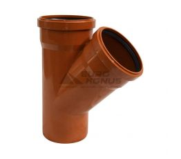 ARMAKAN Тройник для наружной канализации 160*х160*/45° (ATT25)