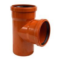 ARMAKAN Тройник для наружной канализации 110*х110*/90° (ATT22)