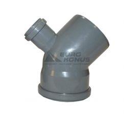 ARMAKAN Колено для внутренней канализации с добавочным доступом 110*х50*/45°х135° (ATK03)