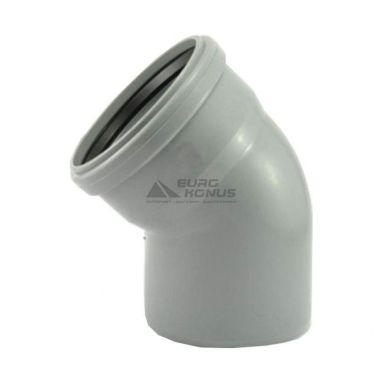 ARMAKAN Колено для внутренней канализации 50*/45° (AUP07)