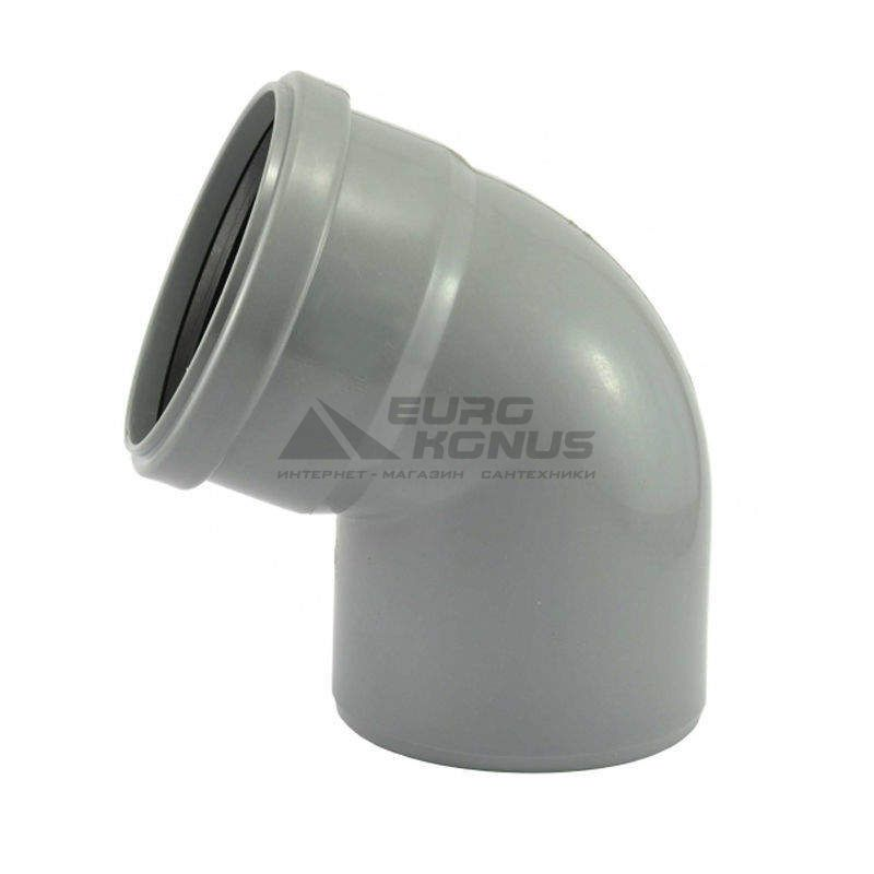 ARMAKAN Колено для внутренней канализации 50*/67° (AUP08)