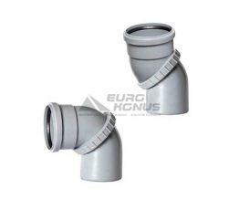 ARMAKAN Колено универсальное для внутренней канализации 110* (AUU02)