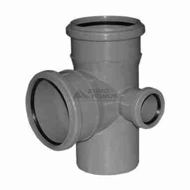 ARMAKAN Крест двухплоскостной правый для внутренней канализации 110*х50*х110*/90° (AHDD02)
