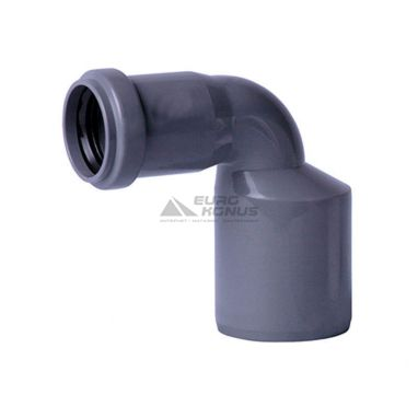 ARMAKAN Редукция угловая для внутренней канализации 50*х32*/90° (ARR17)