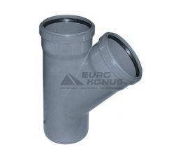 ARMAKAN Тройник для внутренней канализации 50*х32*/67° (ATT12)