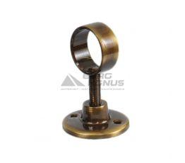 АЗОЦМ Кронштейн для полотенцесушителя 32 мм (П21100068100000) античная бронза