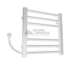 KOSSER Полотенцесушитель электрический левосторонний Стэп 500х500/6 EL белый