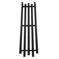 GENESIS AQUA Радиатор из нержавеющей стали Bassa 1600x450 черный