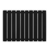 GENESIS AQUA Радиатор из нержавеющей стали Batteria 600x1000 черный