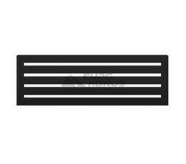 GENESIS AQUA Радиатор из нержавеющей стали Feneli 600x1400 черный