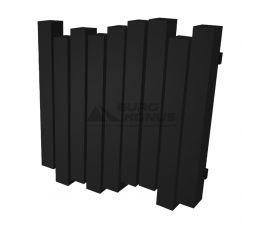 GENESIS AQUA Радиатор из нержавеющей стали Wave 600x1200 черный