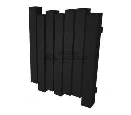 GENESIS AQUA Радиатор из нержавеющей стали Wave 600x800 черный