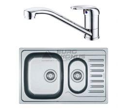 FRANKE Комплект для кухни (мойка + смеситель) (101.0444.132)