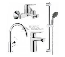 GROHE Комплект для ванной комнаты и кухни Bau Edge (123218K)