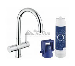 GROHE Комплект для кухни (смеситель + система очистки воды) Blue Pure (33249001)