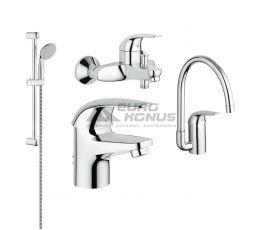 GROHE Комплект для ванной комнаты и кухни Euroeco (123242K)