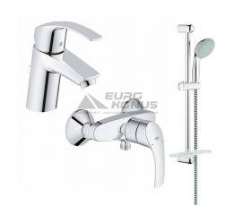 GROHE Комплект для ванной комнаты Eurosmart (123244S)