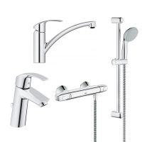 GROHE Комплект для ванной комнаты и кухни Grohtherm 1000 (341325)
