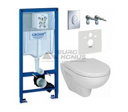 GROHE Комплект для туалета (инсталляция + унитаз) (38721J38)