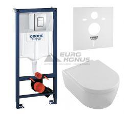 GROHE Комплект для туалета (инсталляция + унитаз) (387756HR)