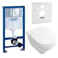 GROHE Комплект для туалета (инсталляция + унитаз) (387760HR)