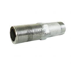 """LEXLINE Сгон трубный никелированный 1/2"""" (100 мм)"""