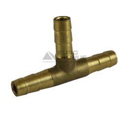 Штуцер-соединитель тройник латунный 18 мм х 16 мм х 18 мм