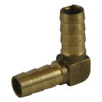 Штуцер-соединитель угол латунный 10 мм