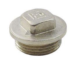 """FADO Заглушка с наружной резьбой никелированная 3/4"""" (ZN02)"""