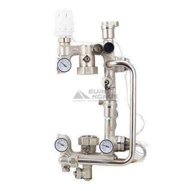"""FADO Насосно-смесительный узел для панельного отопления (без насоса) 1""""х1"""" (SG21)"""