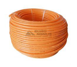 KALDE Труба из сшитого полиэтилена c кислородным барьером Oxygen bariered (orange) 16* x 2,0мм, бухта 140 м