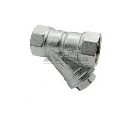 HLV Фильтр грубой очистки никелированный