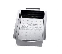 ALVEUS Коландер нержавеющая сталь CUBO 20-40-60-70-80 280x175 (1071222)