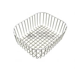 ALVEUS Корзина белая сталь Elegant, Dotto, Basic 140 340x400 (1016104)