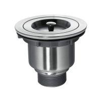 KRAUS Клапан сливной для кухонной мойки с корзинкой BST-1 нержавейка