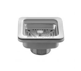 KRAUS Клапан сливной для кухонной мойки ST-3 нержавейка