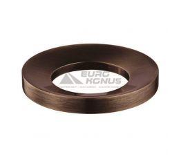 KRAUS Кольцо монтажное для умывальника MR-1 ORB темный шоколад